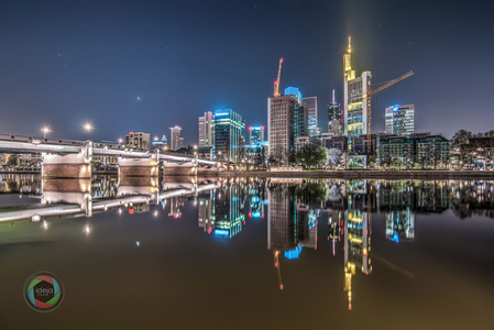 HDR Skyline Frankfurt am Main