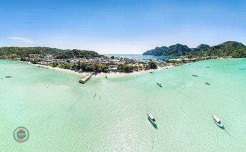 HDR Panorama Ko Phi Phi Don, Thailand