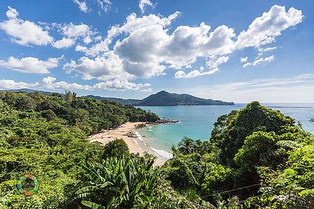 Küstenlinie Phuket, Thailand