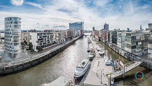 Hamburg Hafencity HDR Panorama