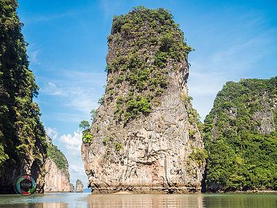 James Bond Island Phuket, Thailand