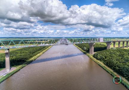 Hochbrücke Brunsbüttel HDR