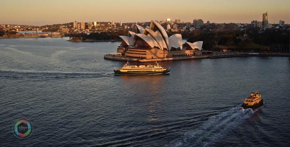 Das Opernhaus in Sydney