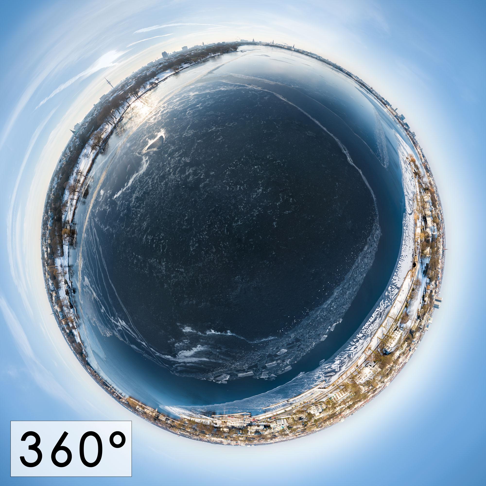 Aussenalster Winter