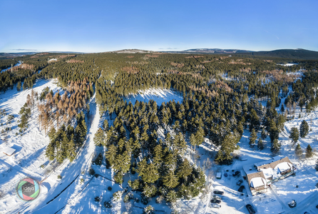 Harz HDR Panorama mit Brocken
