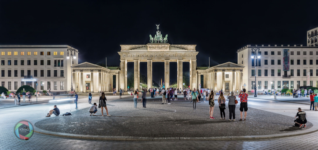 Berlin Brandenburger Tor HDR Panorama