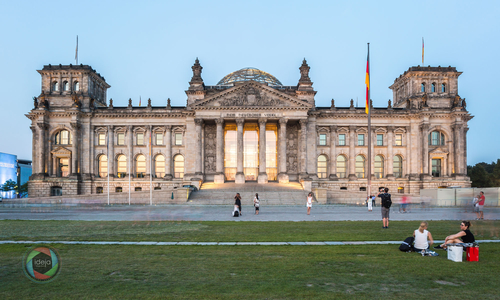 Berlin Reichstag HDR Panorama