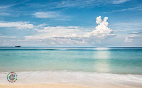 Strandansicht Phuket, Thailand