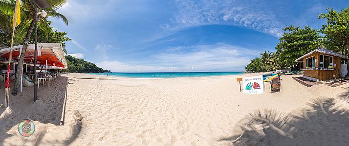 HDR Panorama Strand Phuket, Thailand